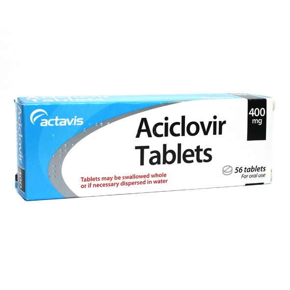 Aciclovir tablets 400mg