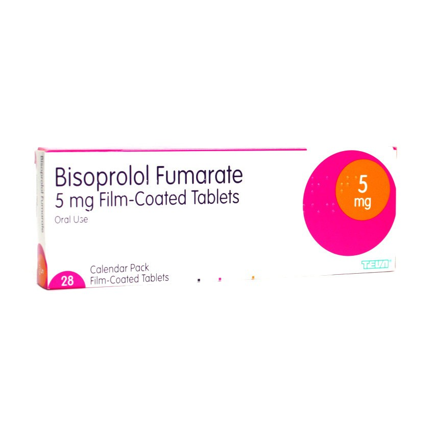 bisoprolol 5mg tablets 28 pack