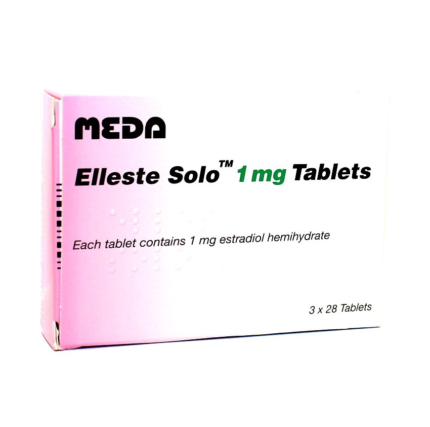 Elleste Solo and Duet Tablets - Elleste Solo MX patches- ALL STRENGTHS