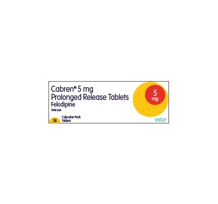 Felodipine XL 5mg tablets 28 pack