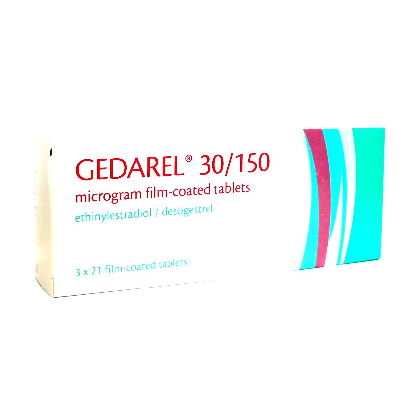 Gedarel 30/150 Oral Contraceptive Tablets