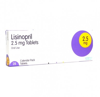 Lisinopril 2.5mg tablets