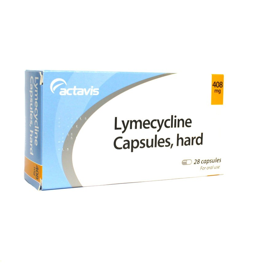 Lymecycline capsules 28 pack
