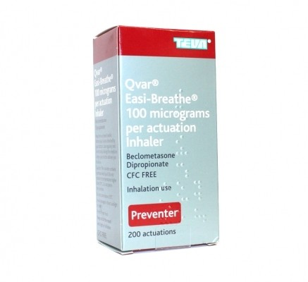 Qvar Inhaler and Easibreathe