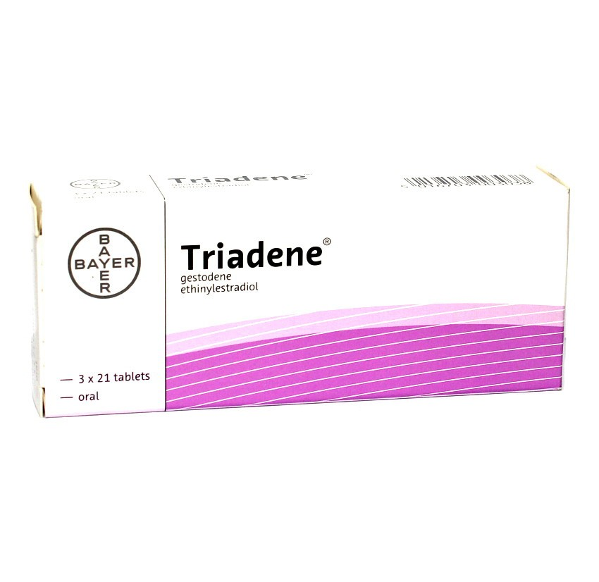 Triadene Oral Contraceptive Tablets