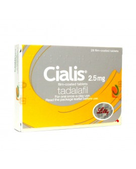 Cialis 2.5mg tablets one-a-day