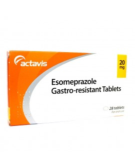 Esomeprazole 20mg tablets 28 pack