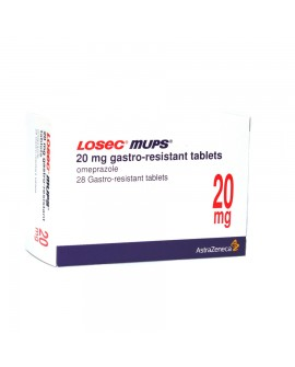 Losec mups 20mg tablets 28 pack