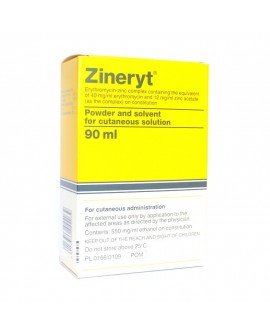 Zineryt Solution