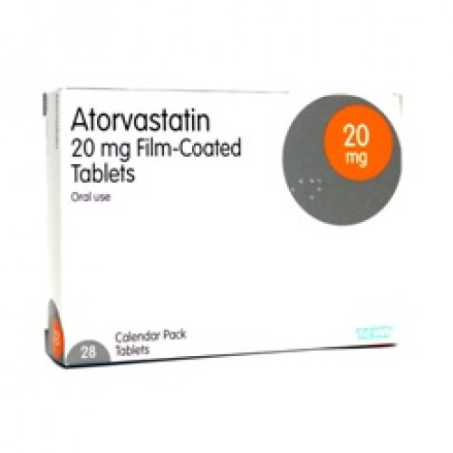 Atorvastatin 20mg tablets 28