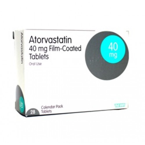 Atorvastatin 40mg tablets 28