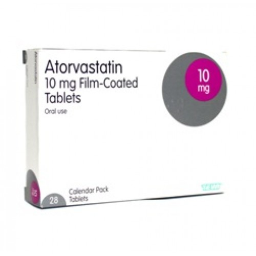 Atorvastatin 10mg tablets 28