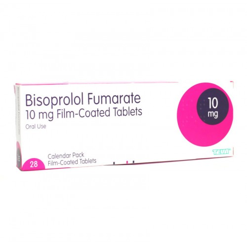 bisoprolol 10mg tablets 28 pack
