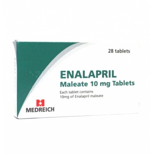 Enalapril 10mg tablets 28 pack