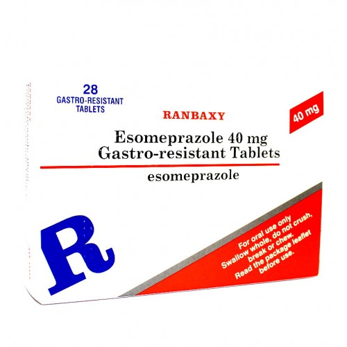 Esomeprazole 40mg tablets 28 pack