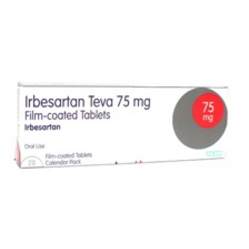 Irbesartan 75mg Tablets 28 pack
