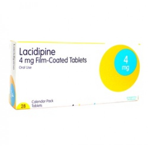Lacidipine 4mg tablets