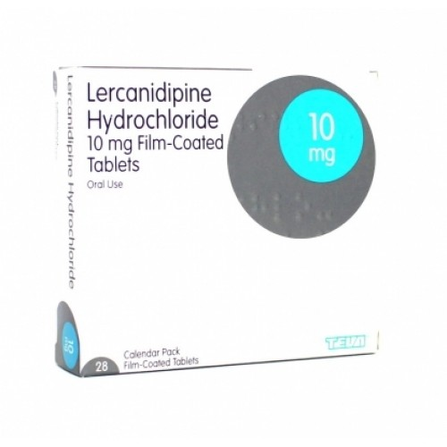 Lercanidipine 20mg tablets