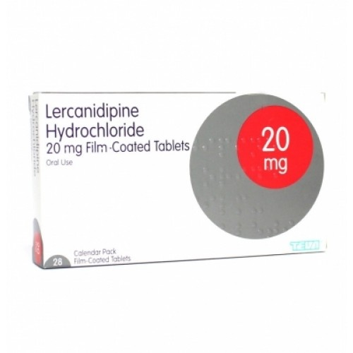 Lercanidipine 10mg tablets