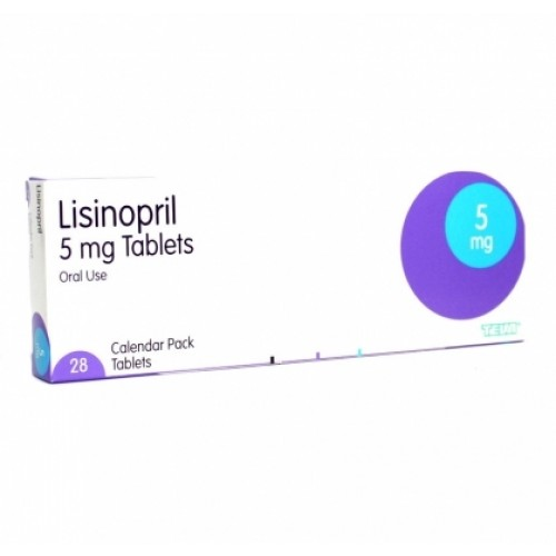 Lisinopril 5mg tablets
