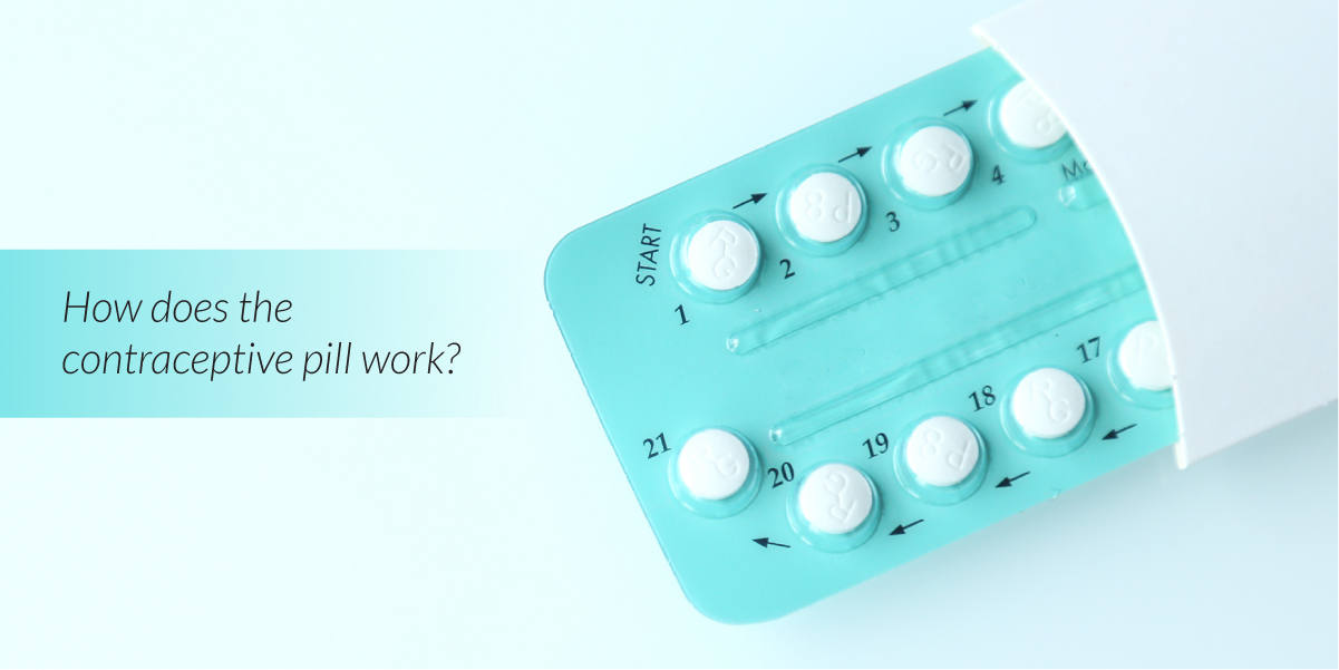 How does the contraceptive pill work